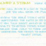 Week of May 13 – Jesus Calmed a Storm – Social Media Plan