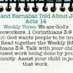 Week of August 5 – Paul and Barnabas Told About Jesus – Social Media Plan