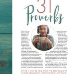 How to Pray – Session 1 – 31 Proverbs
