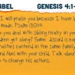 Week of September 23 – Cain and Abel – Social Media Plan