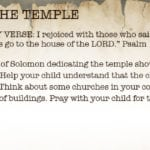 Week of November 4 – Solomon and the Temple – Social Media Plan