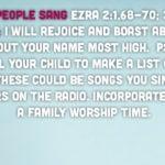 Week of November 25 – The People Sang – Social Media Plan