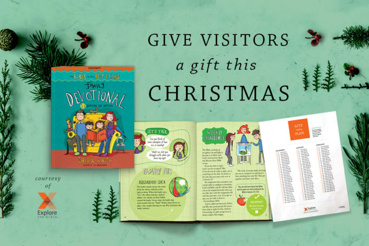 Give Guests Jesus This Christmas