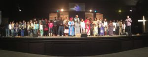 new members church multicultural african refugees