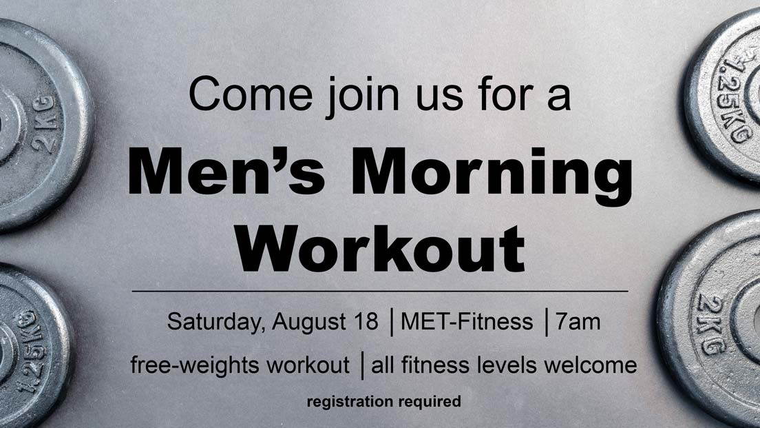 Men's free-weight workout August 2018 columbia missouri MET-Fitness