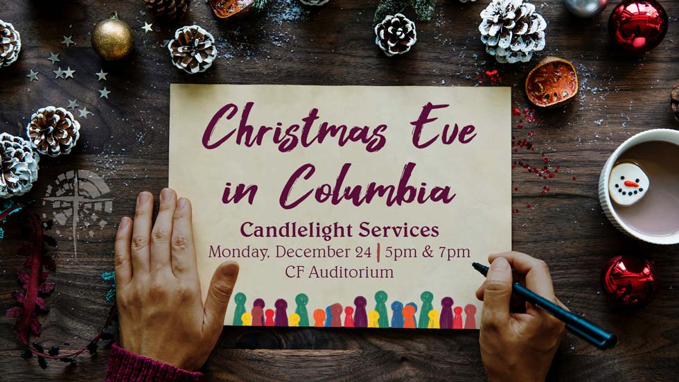 Christmas Eve Candlelight Services at Christian Fellowship Church in Columbia Mo