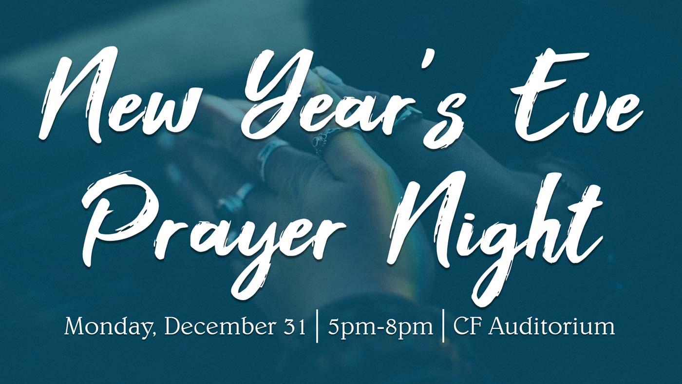 New Year\'s Eve Prayer Night