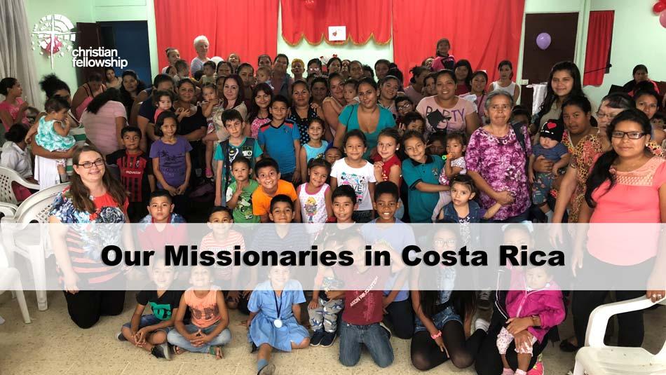Christian Fellowship Church's missions blog, Costa Rica