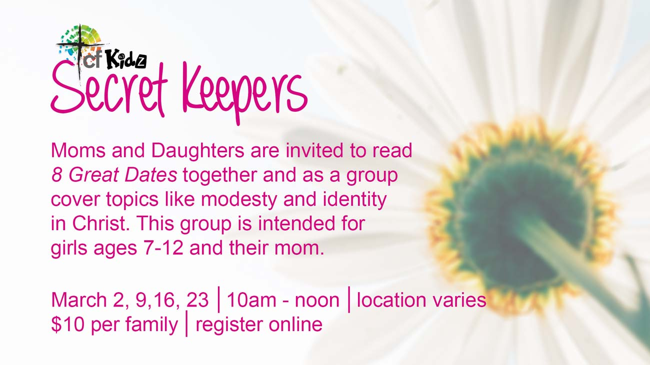 Christian Fellowship Church's mother daughter group Secret Keepers