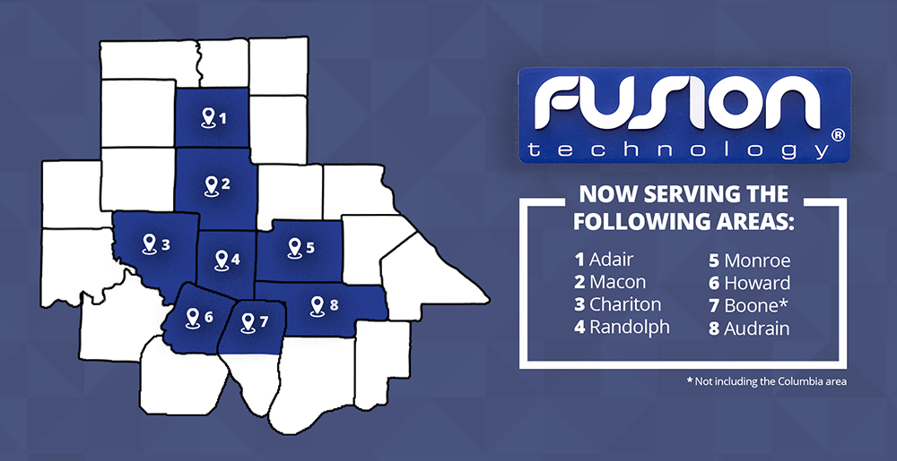 Fusion Technology Service Areas Resized