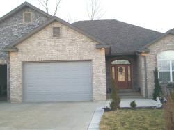 Beautiful new residential garage door