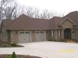 Beautiful residential garage doors