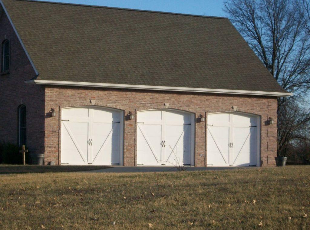 dual handle garage doors