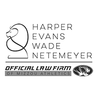 Harper Evans Wade & Netemeyer is the proud law firm of Mizzou Athletics.