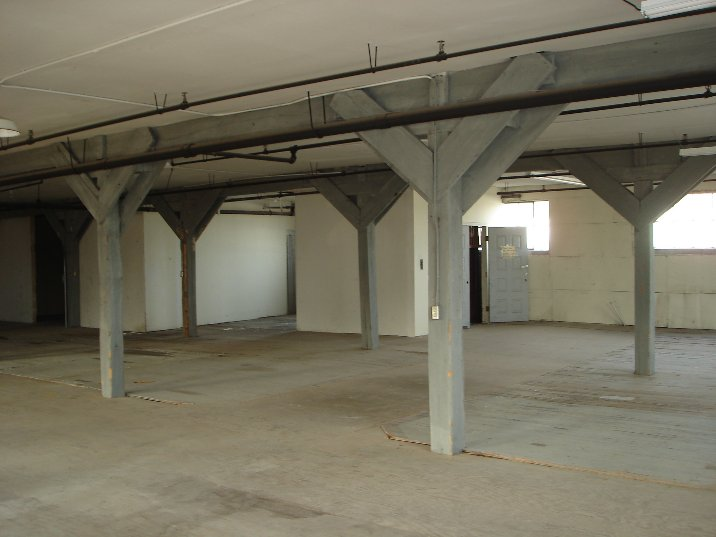 Interior of commercial construction project