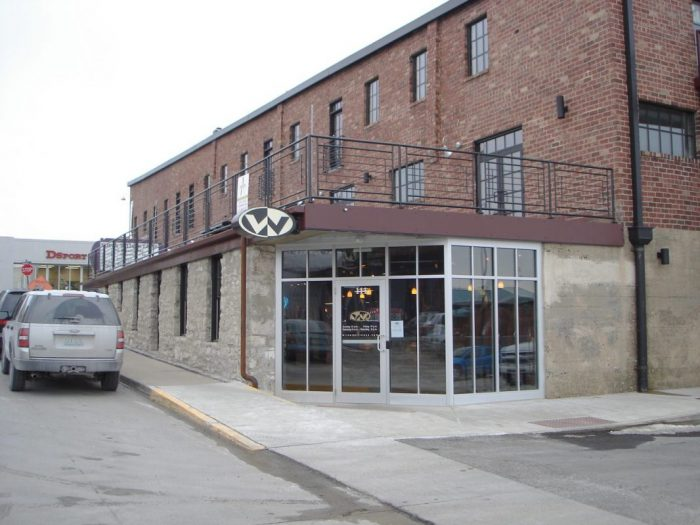 Exterior of Wilson Fitness in mid-Missouri built by Huebert Builders, which specializes in commercial construction and renovations.