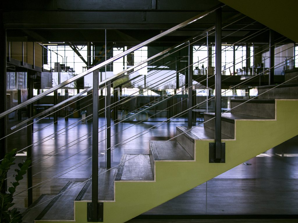 commercial office staircase