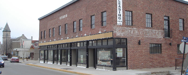 Huebert Builders did a complete commercial renovation of the historic Berry Building in Columbia, Mo.