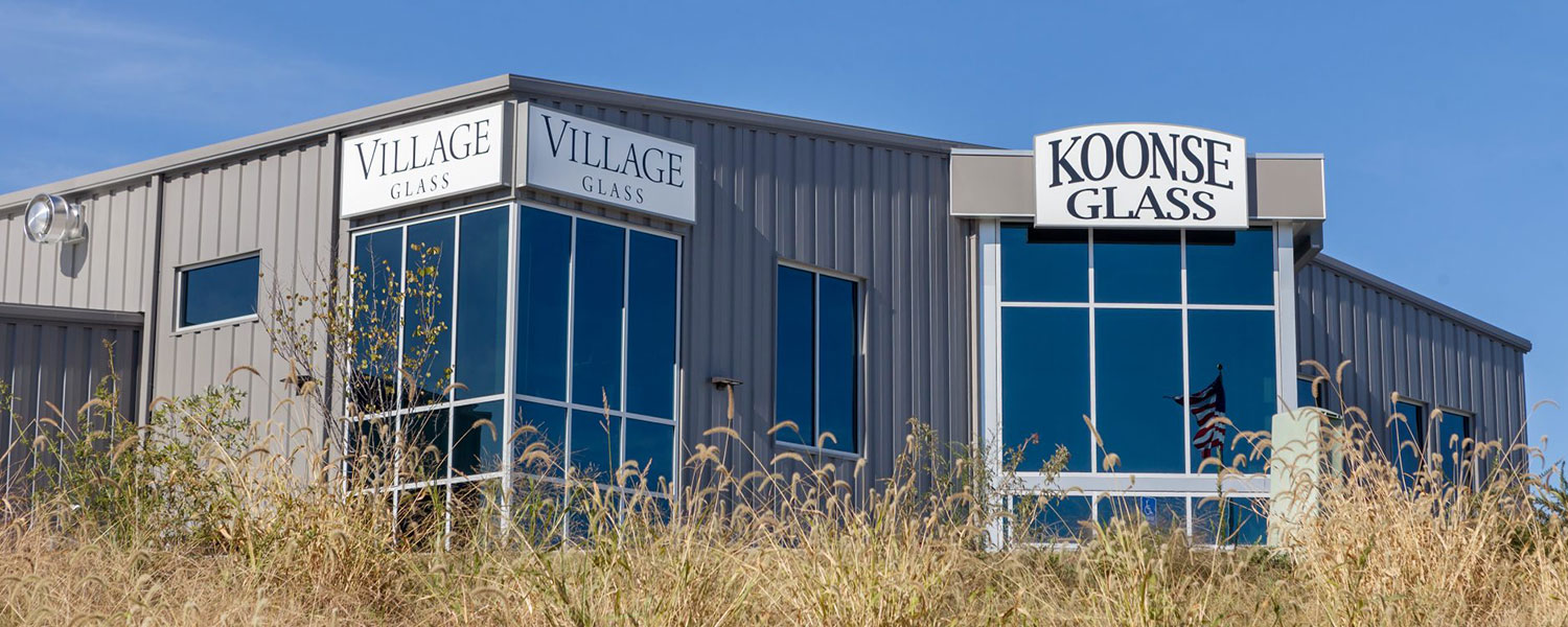 Huebert Builders' expansive portfolio of commercial construction and renovation in Columbia, Mo includes Koonse Glass.