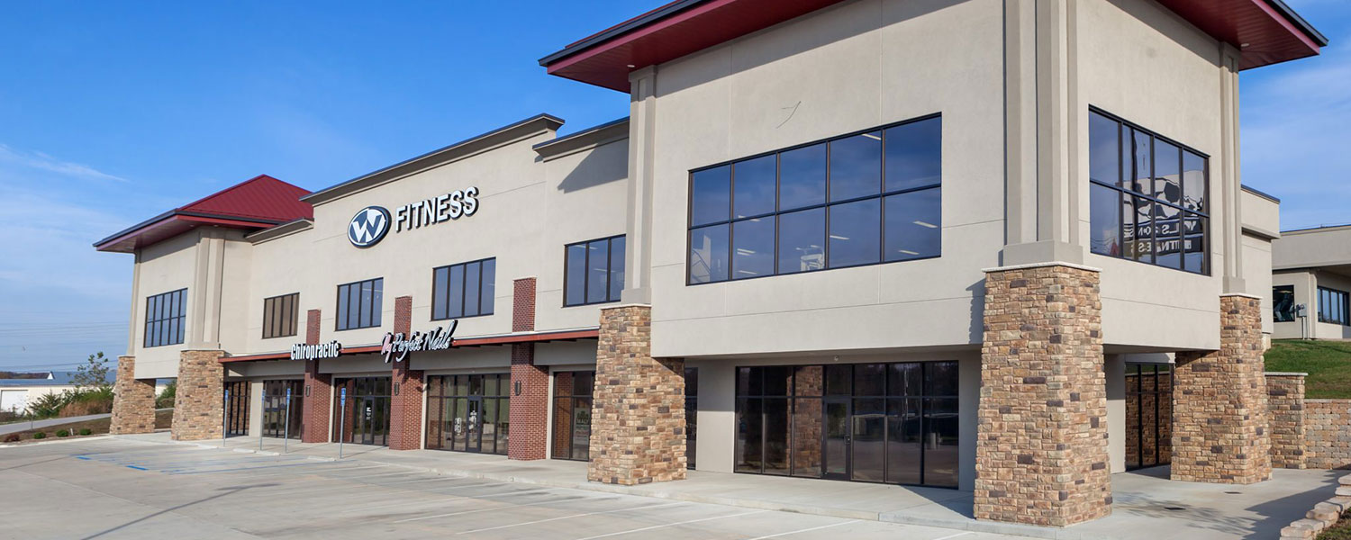 Huebert Builders completed a commercial expansion project for Wilson's Total Fitness Center in Columbia, Mo.