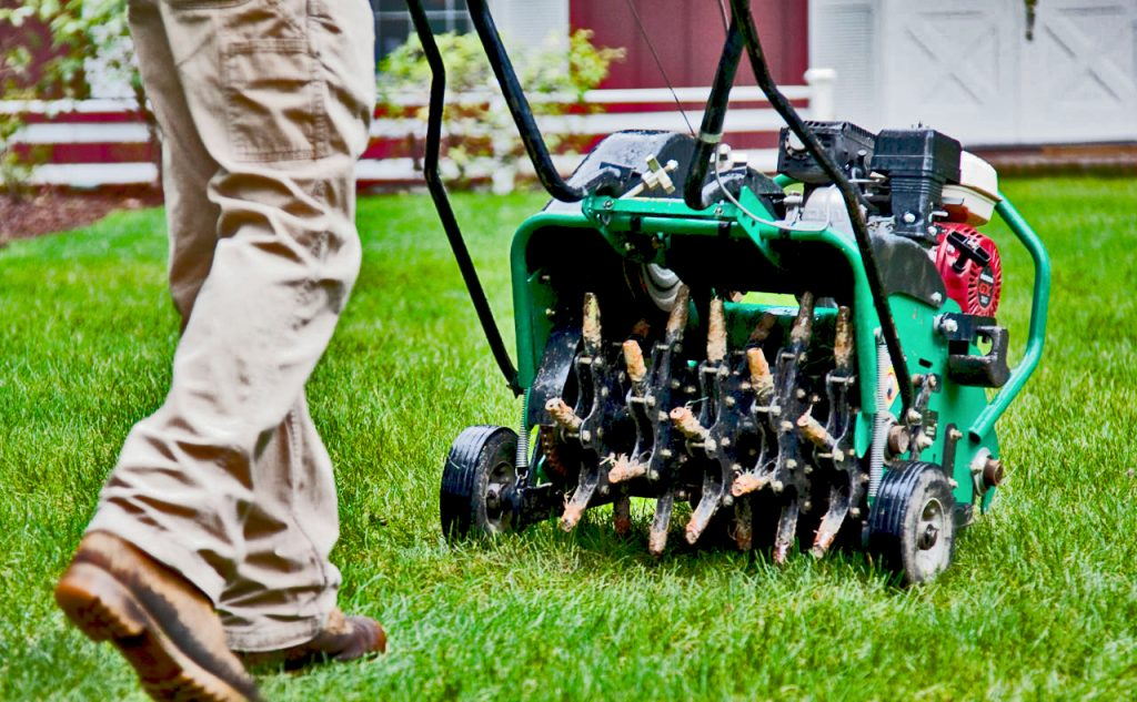 Lawn Services- Lawn Care - Aeration
