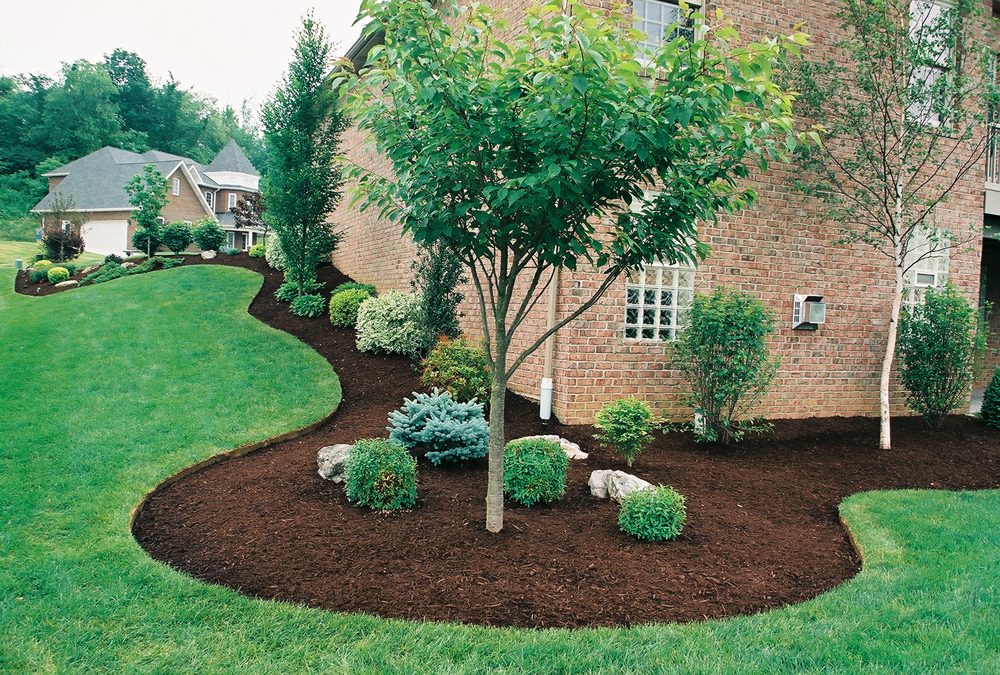 Lawn Service - Mulching