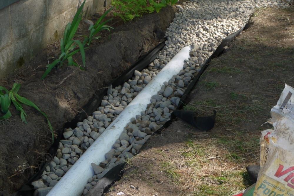 Lawn Service - Drainage