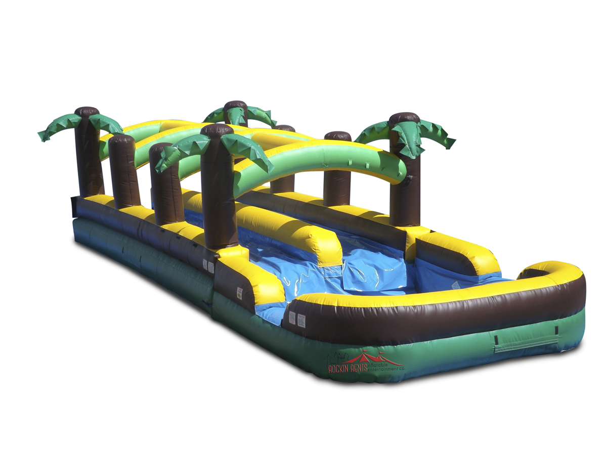 Rent the Dual Slip n Slide from Rockin Rents