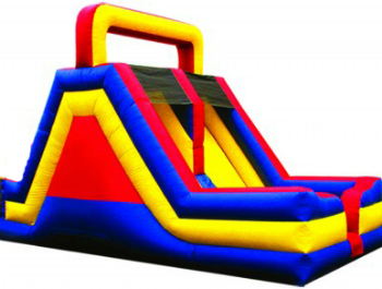 rent the large inflatable slide from rockin rents