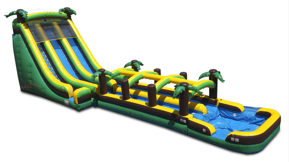 Rent a water inflatable from Rockin Rents
