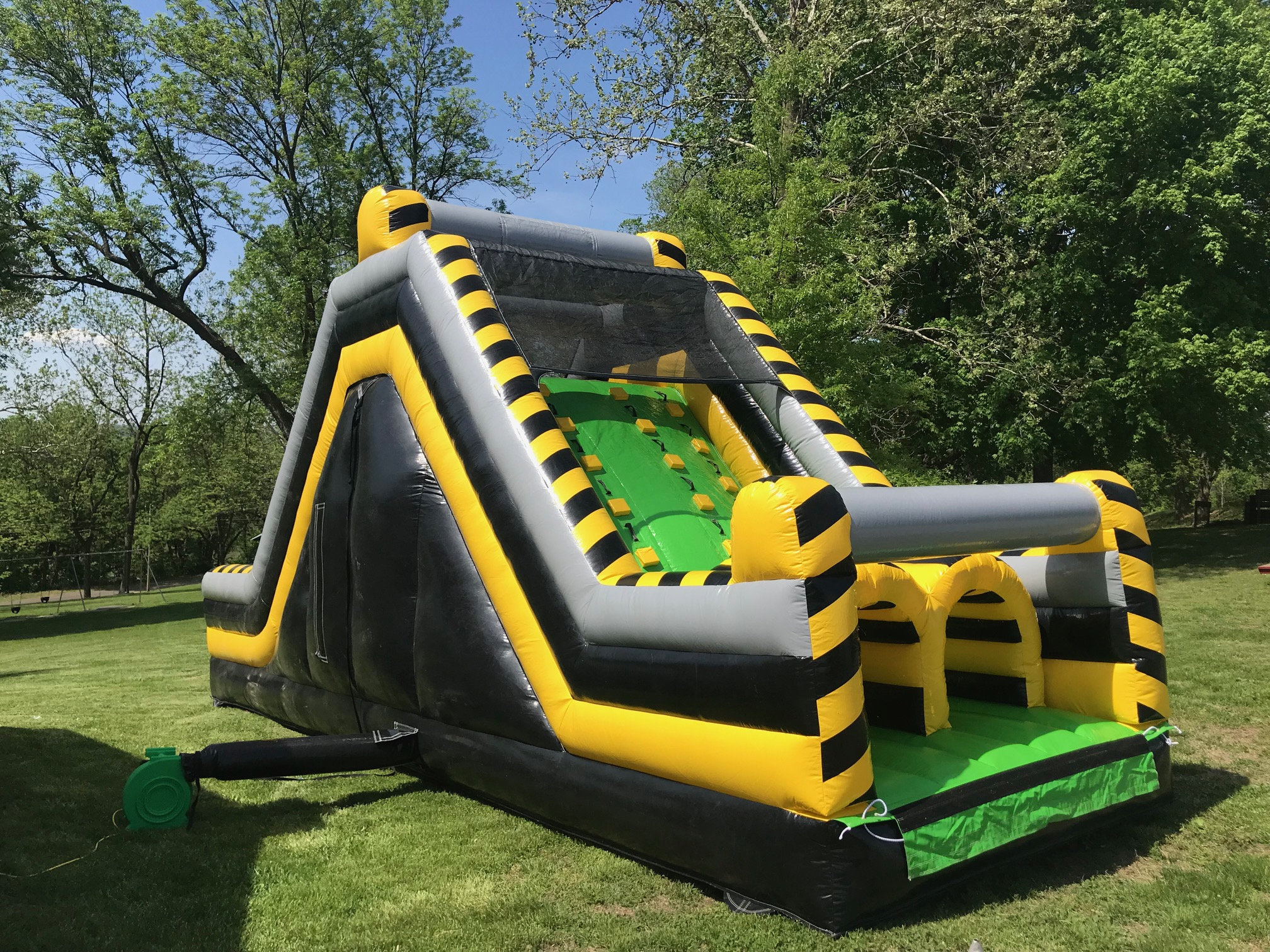 Rockin Rents atomic rock climb inflatable