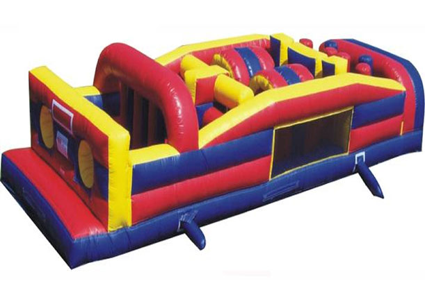 rent an obstacle course from rockin rents
