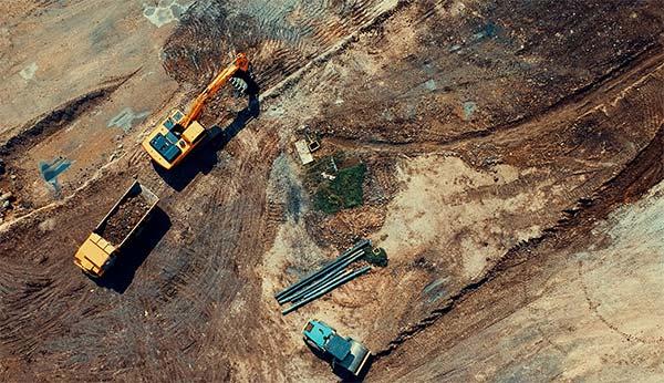 Excavation-site