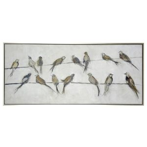 Bird on a Wire canvas art
