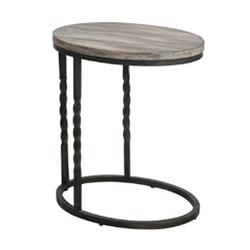Tauret end table