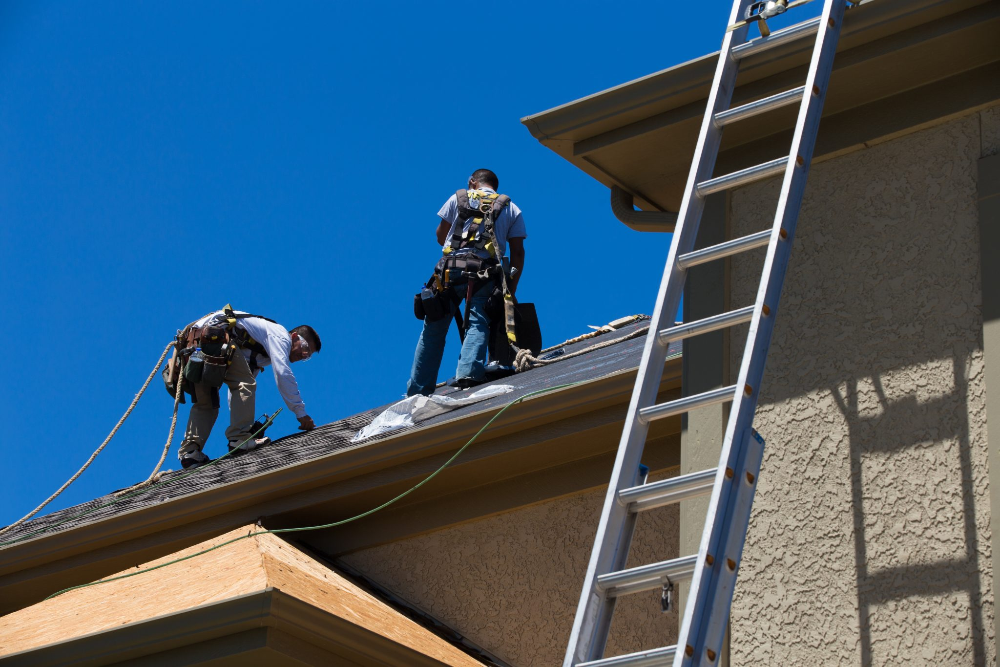 Triad Roofing | Roofers Working
