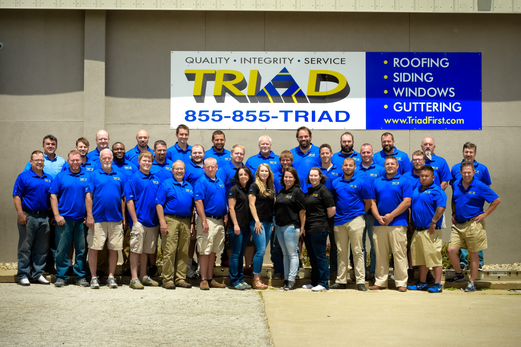 Triad Roofing Team