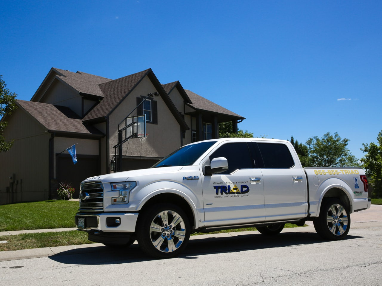 Roofing | Triad Roofing in Kansas and Missouri