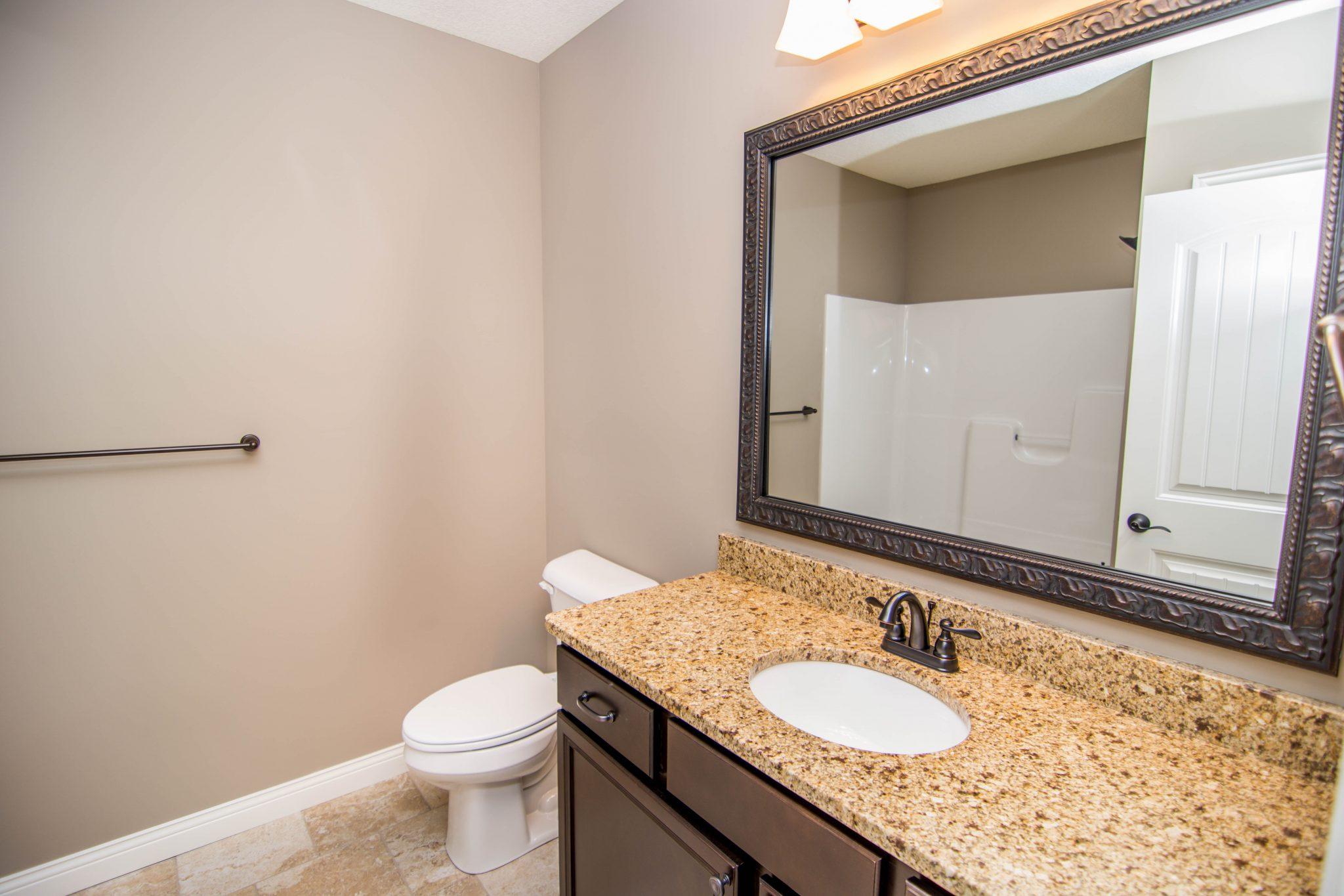 Custom Home Bathroom in Columbia, Mo