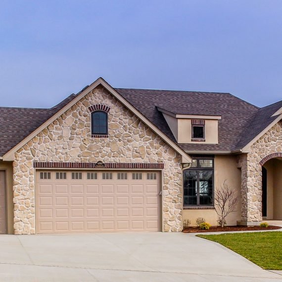 Exterior Custom Home in Columbia, Mo