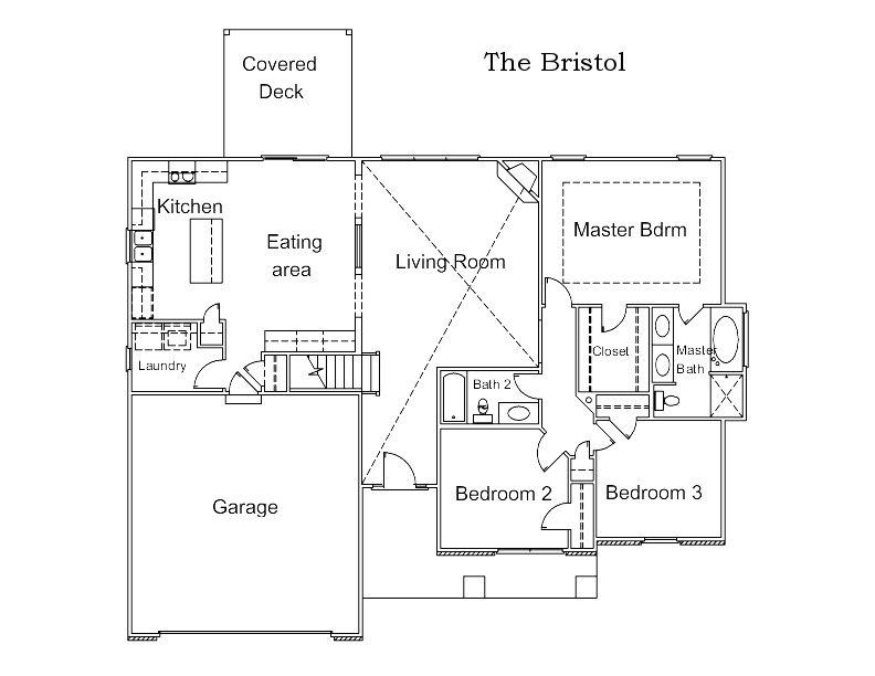The Bristol Custom Floor Plan in Columbia, MO