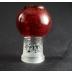 Boro Syndicate 14mm Wrap and Rake Slide Bowl Bubbler- Red