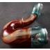 Encalmo Aqua azul/Red Elvis Sherlock pipe