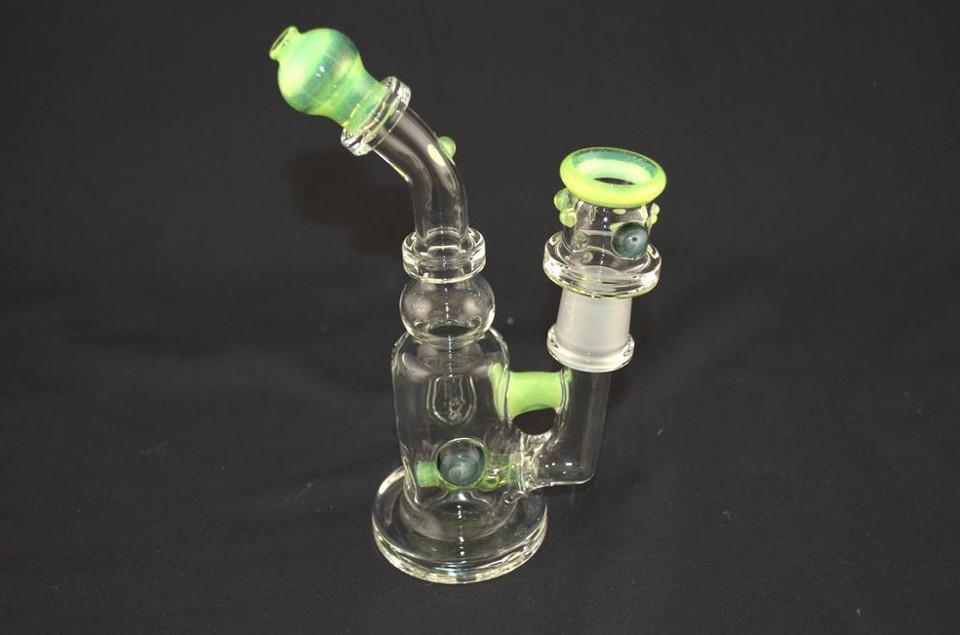 Maestro Glass 18mm DI Rig- Slime