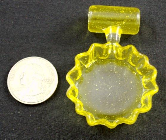 Eskuche Lemon Crush Bottle Cap Pendant