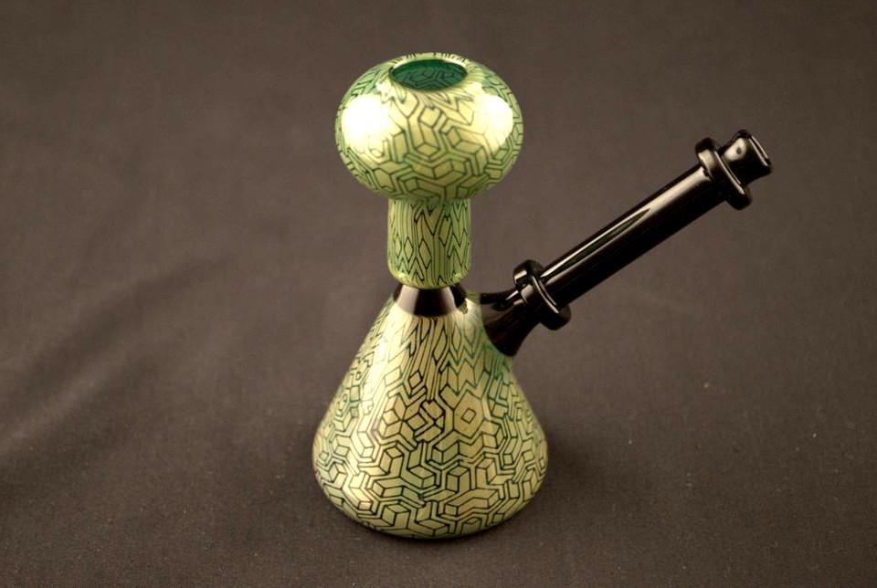 Kind Glass 10mm Mini Beaker Rig