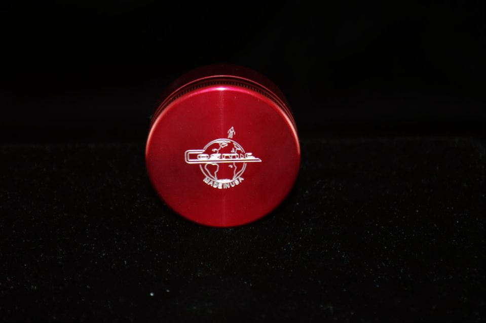 Cosmic Single Stack Grinder- Red