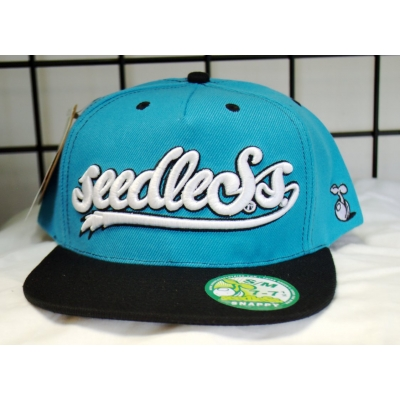 Seedless Clothing Snapback Hat- Blue