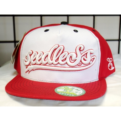 Seedless Clothing Snapback Hat- Red