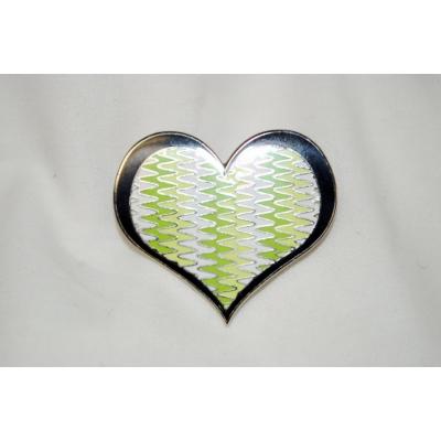 Natey Biskind Hatpin- Heart